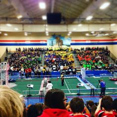 Let the games begin! #frc #robotics #firstwa by frc_2605