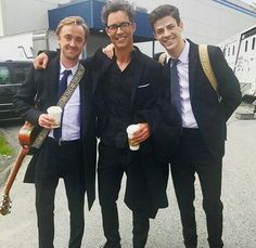 The Toms Tom Felton, Tom Cavanagh, Thomas Grant Gustin