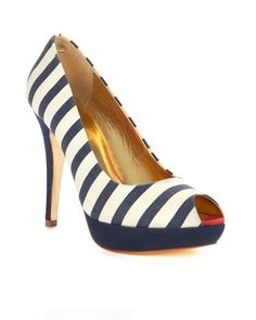 Ted Baker striped shoe
