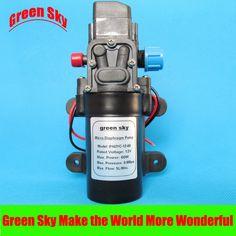 5L/Min 12V DC 60W automatic pressure switch high pressure electric mini diaphragm pump self-priming booster pumnp
