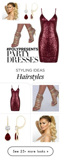 """""""#PolyPresents: Party Dresses"""" by jbillington on Polyvore featuring contestentry and polyPresents"""