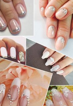 wedding nail Ideas @weddingchicks