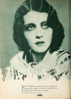Fay Webb in Screenland