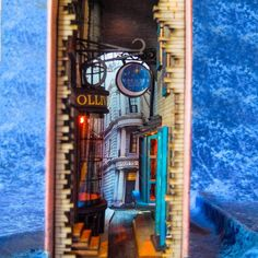 Home Decoration Ideas Cheap .Home Decoration Ideas Cheap Bookshelves Built In, Miniature Rooms, Harry Potter Diy, World Of Books, Book Nooks, Fairy Houses, Small World, Art And Architecture, Shadow Box