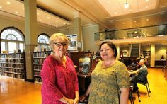 Director and board member put Granite City library on the map. The Illinois Library Association has named Tina Hubert, executive director of Six Mile Regional Library District in Granite City, Illinois, as Librarian of the Year. Mary Jo Akeman, vice president of the district board, is Trustee of the Year. In the past four years, the two women have been crazy busy with a centennial celebration and $3.9 million renovation of their main branch.