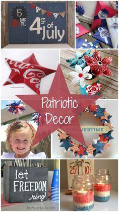 patriotic decoration ideas!