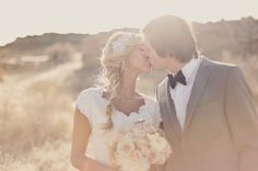 Romantic, Dreamy Bridal Shoot In The Utah Desert