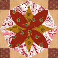 Country Rose Quilts: Block 9 Wo die Liebe hinfällt