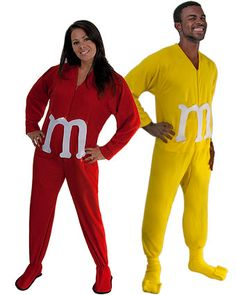 How to make an adult M Couples costume