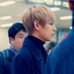 I ❤ his side face so much~