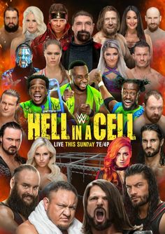 Hell In A Cell PPV Wwe Ppv, Nxt Takeover, Survivor Series, Wwe Wallpapers, Charlotte Flair, Wrestling Wwe, Aj Styles, Wwe Womens, Becky Lynch