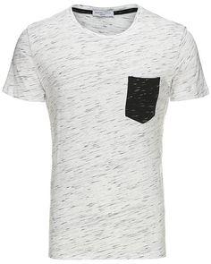 Cool Selected T-shirt Selected T-shirts til Herrer til hverdag og til fest