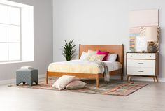 432cb3ab7448e Alton Cherry Eastern King Platform Bed - Signature Kids Bedroom