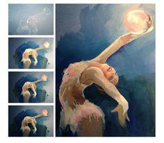 Художественная гимнастика в иллюстрациях Strekosa Design - Ксения Семенчук [strekoza] - Портфолио