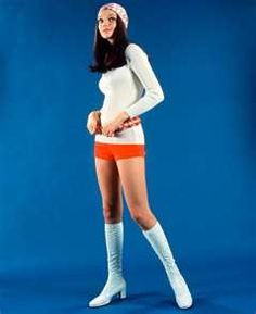 1970 fashion. I want those boots to come back in.