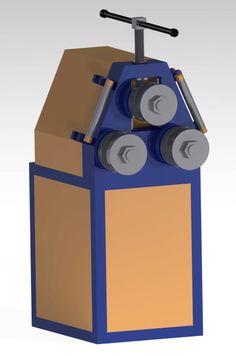 pipe rolling machine - CATIA - 3D CAD model - GrabCAD