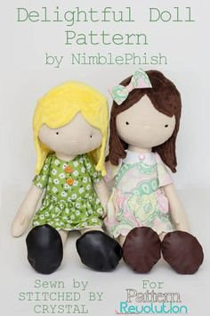 Getting your Gift Giving on with the Nimblephish Delightful Doll — Pattern Revolution