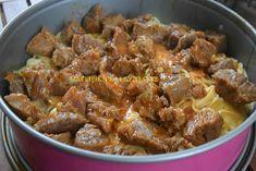 Μακαρόνια με κρέας και κρέμα στον φούρνο !!! - Χρυσές Συνταγές Dinner Recipes, Pasta, Beef, Meals, Ethnic Recipes, Food, Meat, Meal, Ox