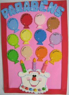 trendy Ideas for birthday board school classroom decor Birthday Chart Classroom, Birthday Bulletin Boards, Birthday Wall, Birthday Charts, Birthday Board, Birthday Chart For Preschool, Board Decoration, Class Decoration, School Decorations