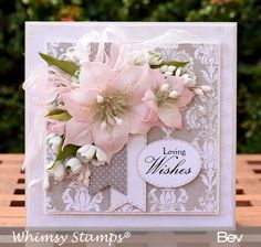 All the things I love: New Lily Die Set - Whimsy Stamps August Release