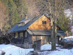 pod Soliskiem Home Fashion, Cabin, House Styles, Home Decor, Decoration Home, Room Decor, Cabins, Cottage, Home Interior Design