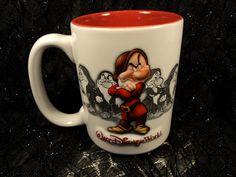 Disney Grumpy Dwarf Coffee Cup Mug Snow White