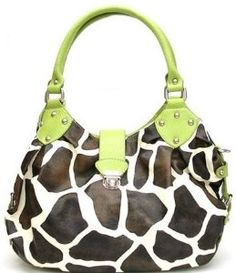 Dooney & Bourke, giraffe print....umm what! my fav color and print together? a must have!
