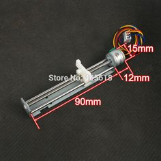 Dc 49v 500mA 2 Phase 4 Wire Drive Stepper Motor Screw