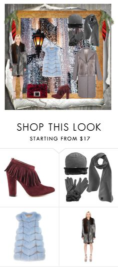 """""""breath of winter"""" by snowmoon ❤ liked on Polyvore featuring Andrew Gn, Michael Antonio, Pologeorgis and Ermanno Scervino"""