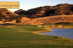 $29 for 18 Holes with Cart at Diablo Grande Golf and Country Club in Patterson, #California! #Golf!