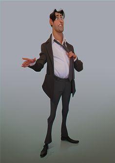 Businessman Character #businessman #character