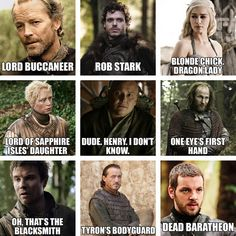 """""""When Someone's Dad Tries to Name All the 'Game of Thrones' Characters"""" or my mom"""