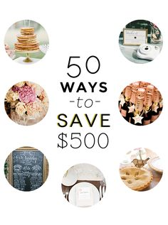 The ultimate wedding budget guide to saving money!