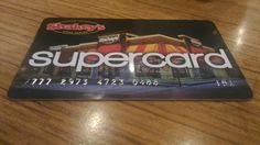 Shakey's Supercard. #Happy2nd 11-29-16