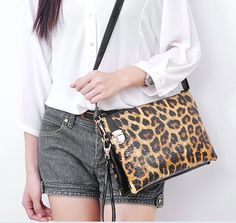 2c3a6ad3c9 BP handbag quality cross body bag evening bag envelope bag for party purse  leopard print black white checkerboard zebra stripe-in Wallets from Luggage  ...