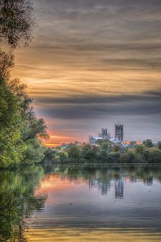 Ely Cathedral | by K.J.P.Landscapes Ely Cathedral, Cambridge, Scotland, Northern Lights, England, River, Explore, Wales, Landscapes