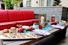 PAMA Celebrate Summer Backyard Dinner Party - B. Lovely Events #PAMACelebrateSummer #Contest #Sponsored