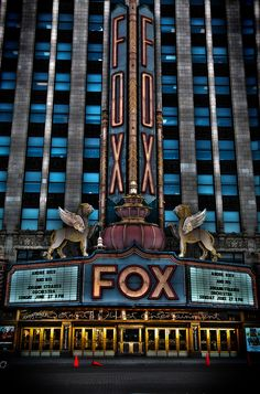 Fox Theater, Detroit, MI