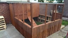 Build A Hen House From Pallets You Tube