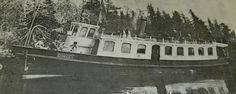 Canadian steam boat =- note curved windows.