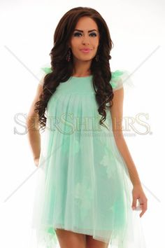 Alluring Haze Mint Dress