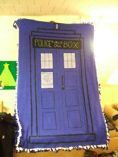 TARDIS blanket  ok not really a passageway just kiddin