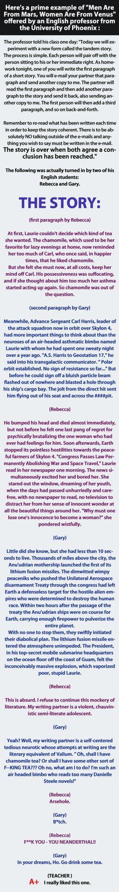 2 literature students email short story homework. Hahahaha! Freaking great