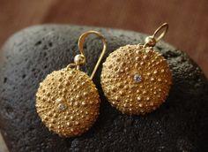 Baby Sea Urchin Earrings | Handcrafted Jewelry | Trovati like the idea