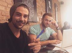 Patrick Cuninka und Philipp Stehler machen ihre Insta-Fans mit ihrem neuesten Posting neugierig.