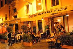 Cajo e Gajo | Trastavere. Great atmosphere. Open late.Good comforting food