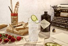 Learn how to make the perfect gin and tonic with Hendrick's Gin and a cucumber garnish. Explore delicious gin cocktail recipes from Hendrick's Gin. Tonic Cocktails, Best Gin Cocktails, Cider Cocktails, Gin Cocktail Recipes, Drink Recipes, Tonic Water, Ginger Ale, Hendricks Gin Recipes, Gin Und Tonic