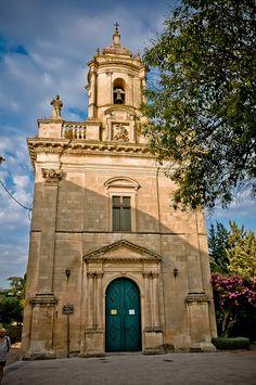 Ragusa Ibla - Chiesa di san Giacomo - Sicily, Italy