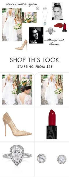 """""""Always and Forever"""" by imnotdoneyetap ❤ liked on Polyvore featuring Jimmy Choo, Urban Decay, Mark Broumand and Armenta"""