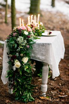 Woodland Wedding Theme - Image by Jo Bradbury, Flowers By Wild Orchid With Images From Jo Bradbury Wedding Photography